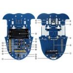 AlphaBot robot építő klt (kamerával)