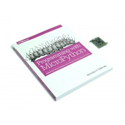 MicroPython könyv + PYBv1.0