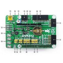 DVK512 RPi bővítő lap