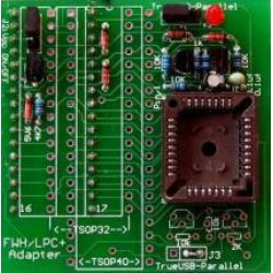 PLCC 32 Firmware HUB / LPC Adapter v2.1 - GQ-3x, GQ-4x - ADP-030