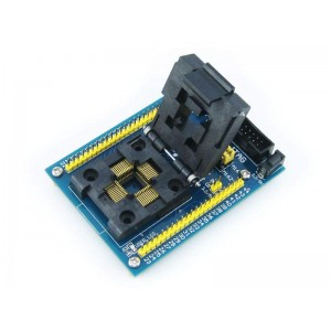 AVR ISP QFP44 adapter (M16+)