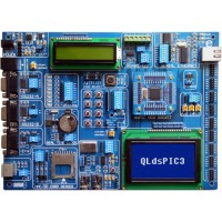 QLdsPIC3 - 16bit PIC fejlesztő lap