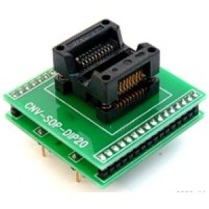SOIC20 to DIP20 adapter