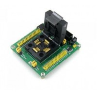 STM32 ISP QFP64 adapter