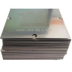 BGA újragolyózó sablon készlet (200+) 90x90mm