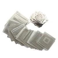 BGA újragolyózó sablon készlet INTEL (49db)