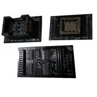 FlashcatUSB TSOP48 és PLCC32 adapter