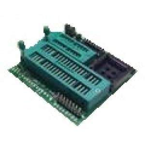 MCS 51 / AVR + PLCC44 Adapter - Willem