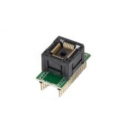 PLCC44 to DIP44 Adapter (Oldható)
