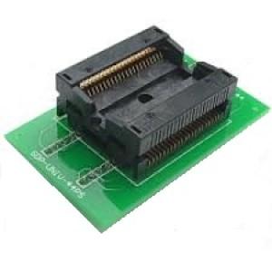 PSOP44 to DIP44 adapter - foglalattal