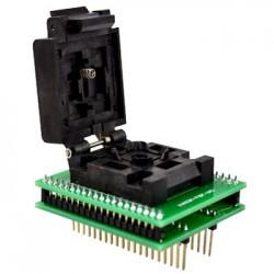 PQFP44 to DIP40 adapter foglalattal (16C64)