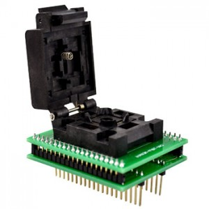 PQFP44 to DIP40 adapter foglalattal (MCS51)