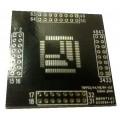 QFP 32,44,48,64 univerzális adapter nyáklap (0,8mm)