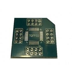 QFP32 adapter nyáklap